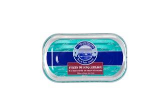 Makrelenfilets in Senfsauce mit Traubenmost