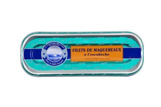 Makrelenfilets in Escabèchesauce