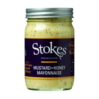 Stokes Mustard & Honey Mayonnaise