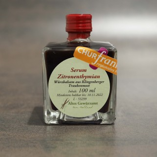 Serum Zitronenthymian Churfranken