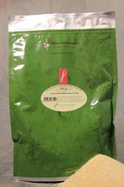 geräucherter Rohrzucker 0,5 kg