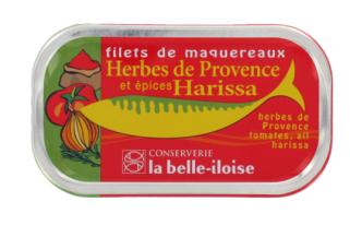 Makrelenfilet mit Kräuter der Provence und Harissa