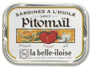 Sardinen in Öl und Sauce Pitomail