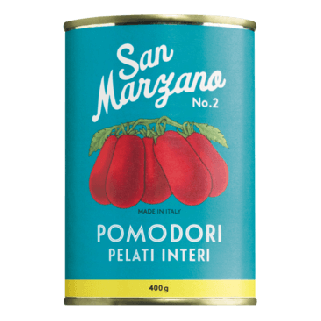 Ganze geschälte Tomaten San Marzano No. 2