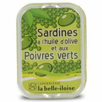 Sardinen mit grünem Pfeffer