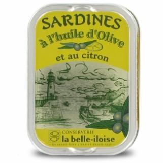 Sardinen in Olivenöl und Zitrone