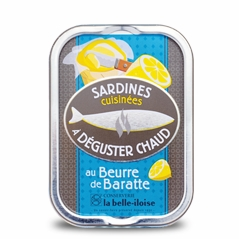 Sardinen mit Fassbutter