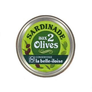 Sardinenpaste mit zweierlei Oliven