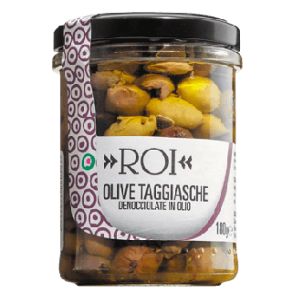Ligurische Taggiasca Oliven ohne Stein