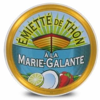 "Thunfischstückchen  Émietté ""á la Marie-Galante"""
