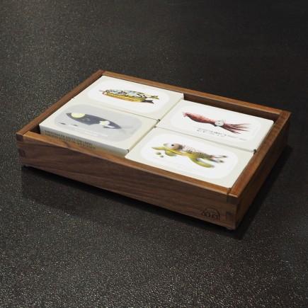 Holzbox Fischkonserven José Gourmet