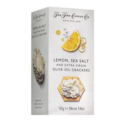 Lemon, Sea Salt & Olive Oil Crackers