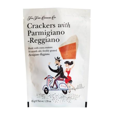 Crackers with Parmigiano Reggiano