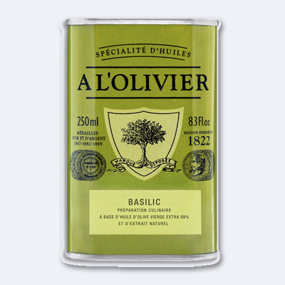 A L´OLIVIER Olivenöl mit Basilikum