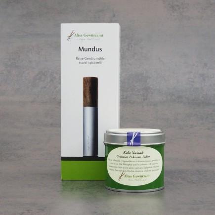 Mundus Mühle + Kala Namak Granulat