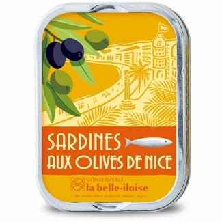 Sardinen mit Nizza Oliven