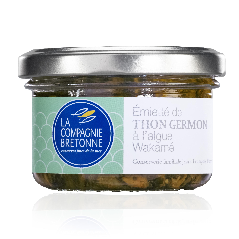 Thunfischstückchen mit Wakamé-Alge