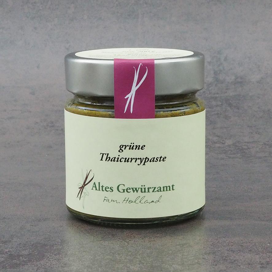 grüne Thaicurrypaste