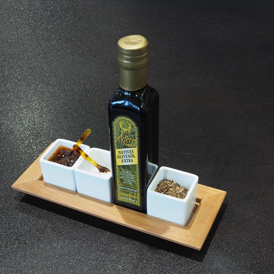 Holztablett Tischkultur