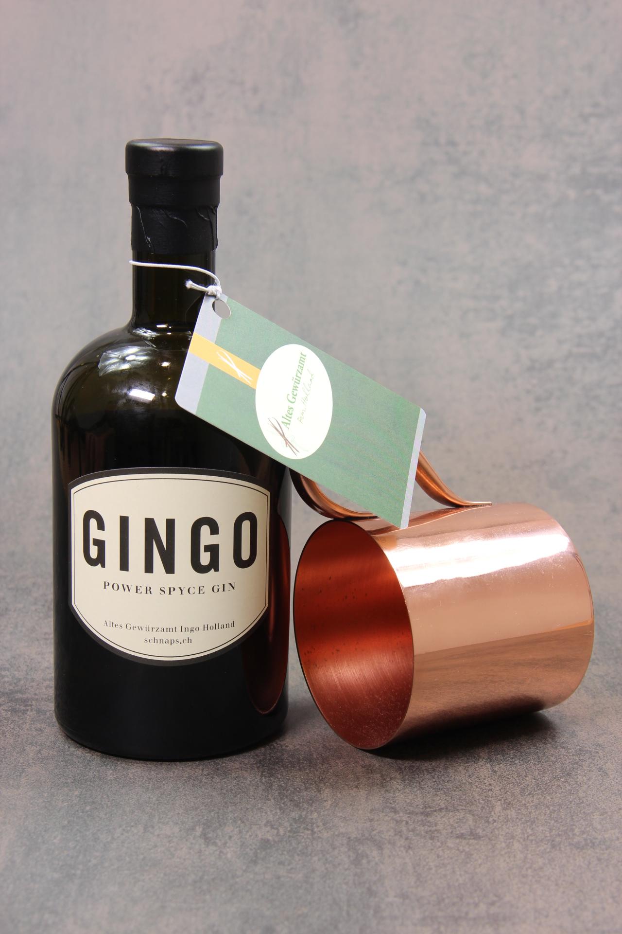 GINGO POWER SPYCE GIN 50CL 43% Vol.