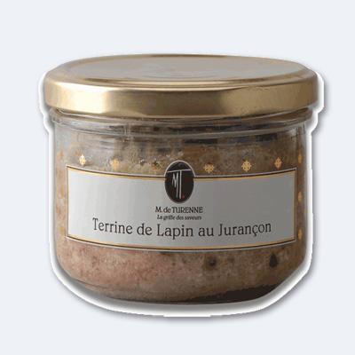 Kaninchenterrine mit Juraçonwein