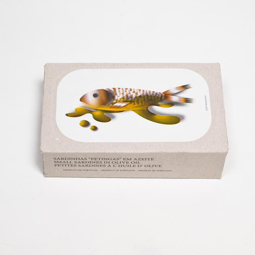 Kleine Sardinen in Olivenöl extra