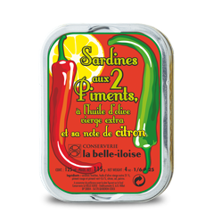Sardinen mit Chili und Zitrone
