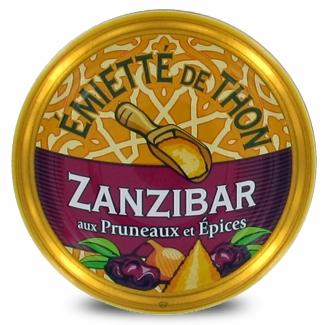 """Thunfischstückchen """"Zanzibar"""" mit Pflaumen und Gewürzen"""