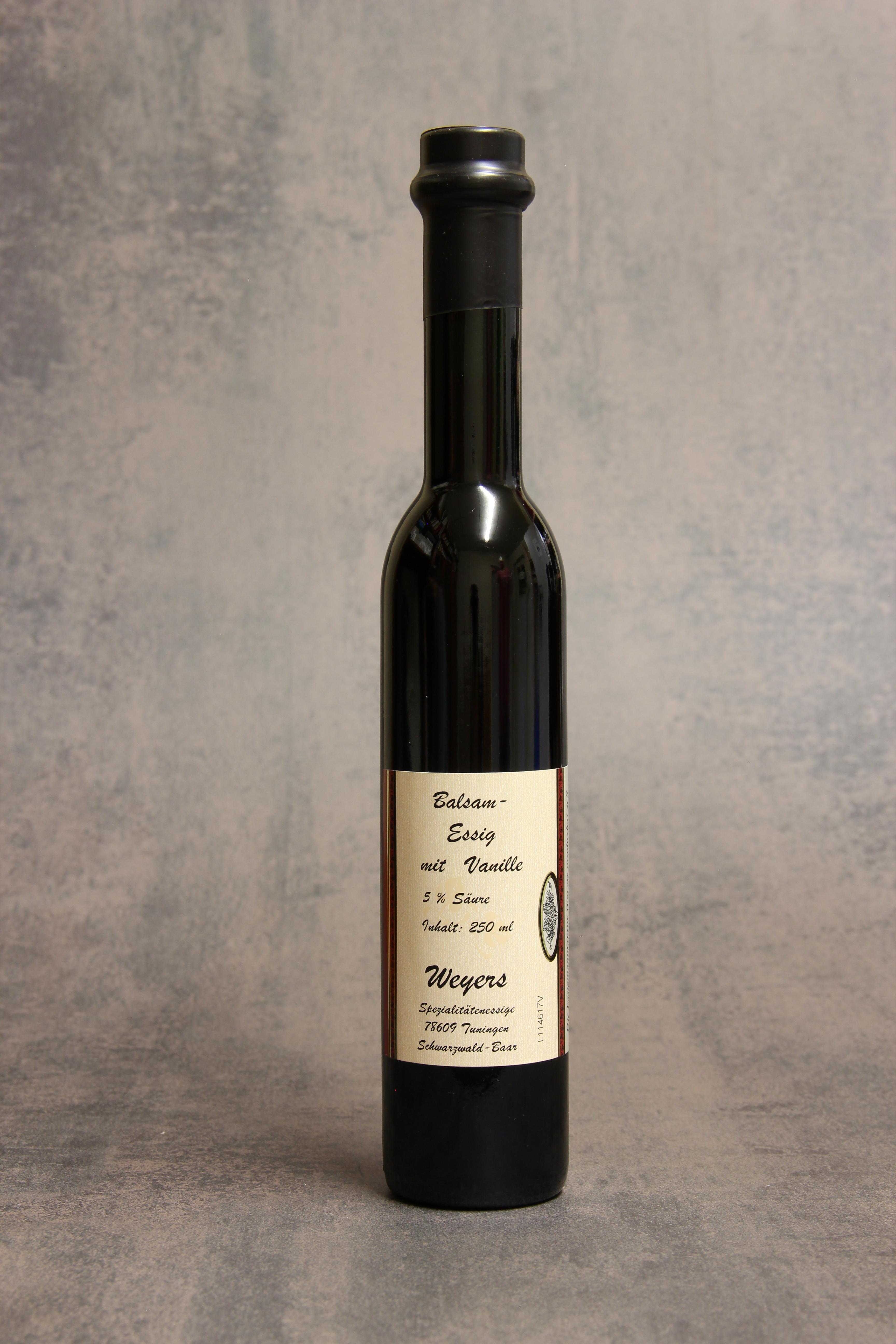 Balsam Essig mit Vanille